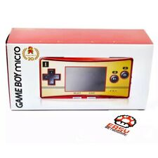 Game Boy Micro 20th Anniversary Famicom Color Mario Nintendo System Japan NEW