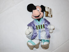 The Disney Store  Mini Bean Bag Globe-Trotting Japanese Mickey Pre owned
