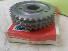 """SPORTSTER """"NEW OLD STOCK IN BOX"""" ENGINE SPROCKET #40235-70A"""
