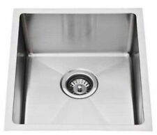 New Inset Square Undermount SINK Single BOWL laundry Ostar YH86R 380mm x 440mm