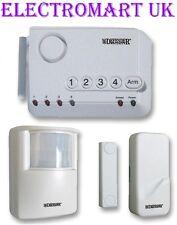 WIRELESS SECURITY PIR MAGNETIC DOOR WINDOW CONTACTS SENSOR ALARM SYSTEM