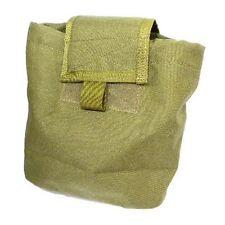 Airsoft Multicam vert tan de molle pliable poche de vidage titulaire Lumière cordura od