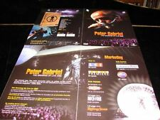 PETER GABRIEL THE GROWING UP LIVE!RARE FRENCH PRESS/KIT