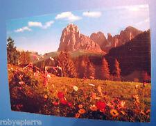 Vendo cartolina viaggiata ORTISEI Val Gardena Dolomiti 1984 Sassolungo R 3241