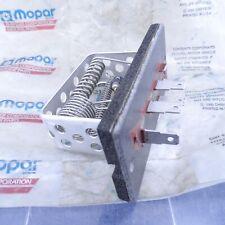 NOS Blower Motor Resistor 1986-1987 Dodge 600 1986 Chrysler Laser Mopar 3849235