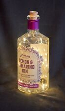 ADNAMS SOUTHWOLD GIN Bottle Twinkly Light Lamp Wedding Party *Dog Charity*