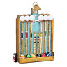 """Croquet Set"" (44135)X Old World Christmas Glass Ornament w/ OWC Box"