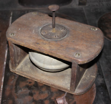 Scarce 19th c. Foot-Operated Alarm Bell from a Horse-Drawn Fire Department Wagon