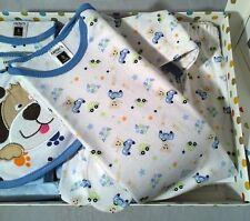 Conjuntos de ropa de niño de 0 a 24 meses azul recién nacido
