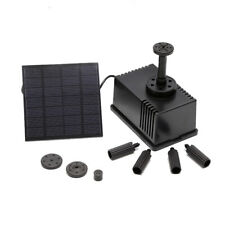 SN_ SOLAR POWERED FOUNTAIN GARDEN POND SUBMERSIBLE WATER PUMP FEATURES 180L/H
