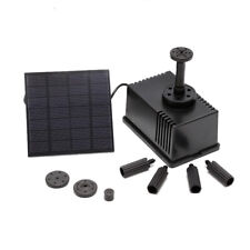 EE_ EG_ SN_ SOLAR POWERED FOUNTAIN GARDEN POND SUBMERSIBLE WATER PUMP FEATURES 1