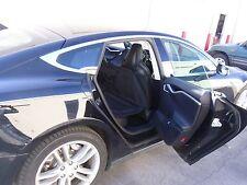 TESLA  Dog Seat Cover Car Rear seat Door Panel  Protector Bridge  PetMyRide.com