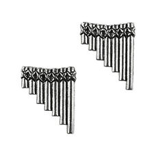 Pan Flute Cufflinks - Music Accessories - Anniversary Gift - Handmade - Gift Box