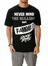 03ffb5ffad2cdc Famous Stars And Straps Men s RS Nevermind Short Sleeve Graphic T-Shirt    Medium