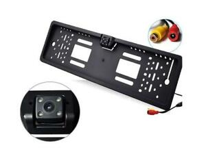 Portatarga con telecamera 170 ° Visione Nottura Retromarcia Auto Retrocamera OFF