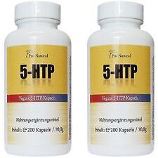 5-HTP 100mg 200 Kapseln 100% Griffonia Samen Schlafqualität Serotonin Booster