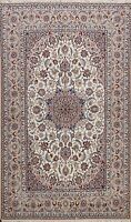 5'x8' Floral Vegetable Dye Najafabad Wool/ Silk Area Rug Hand-knotted Oriental