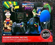 New My Arcade GameStation Retro Data East Hits Plug N Play Console 300 Games