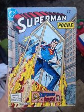 SUPERMAN POCHE N° 77 BD SAGÉDITION 1984