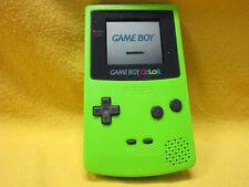 Nintendo Game Boy Color CGB-001 Kiwi Lime Green Handheld System TESTED