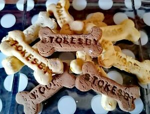 Gluten Free Dog Treats Biscuits Personalised handmade Christmas gift