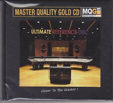 """""""Ultimate Reference Disc"""" Master Quality Gold CD MQGCD MQG CD Numbered New"""