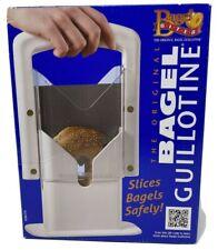 """Bagel Biter Slicer Cutter """"The Original Bagel Guillotine"""" Kitchen Tool Sealed"""