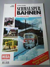 Miba-Report 4: Mariazeller Bahn & Krumpen ,Schmalspurbahnen ÖBB