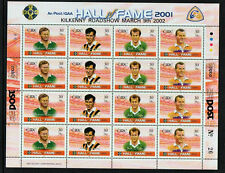 GAA  GAELIC FOOTBALL 2002  DX219  KILKENNY EXHIBITION SHEETLET PANE - SCARCE