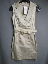 Orsay Figurbetontes Kleid beige Gr.34 NEU (Z76)