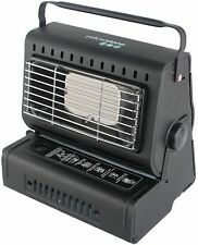 New Durable Steel Black PORTABLE GAS HEATER CAMPING FISHING OUTDOOR Easy to Use
