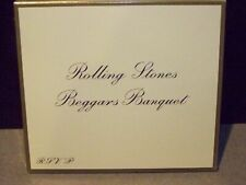 THE ROLLING STONES BEGGARS BANQUET 50 TH ANNIV REMASTERED CD WITH RE COVER