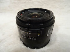 SONY Alpha Digital Fit Minolta AF 28mm F2.8 primo A33 A55 A57 A77 A99 A560 A580