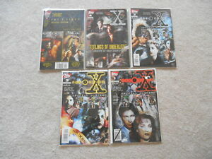 Topps X Files Special Edition Volumes 1,2,3,4 and5  Brand New