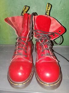 RARE RED DISCONTINUED Doc Martens