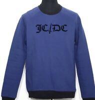"JC de CASTELBAJAC ""JC/DC"" Herren Sweatshirt blau Sweater blue M L NEU ETIKETT!"