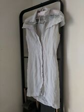 MAURIE & EVE - Lace Trench Dress - Size 8 - EUC