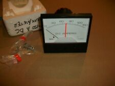 Crompton Instruments DC Ampere Meter Model 307A  24VDC POWER  0-150AMP RANGE