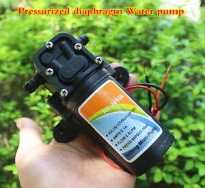 1pcs DC 12V diaphragm booster pump electric sprayer water pump 775 high power