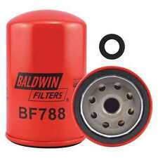 BALDWIN FILTERS BF788 Fuel Filter, 4-27/32 x 3-1/32 x 4-27/32In