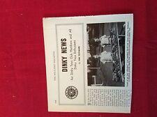 m12v ephemera 1950s picture dinky toys club David james starkey salisbury rhodes