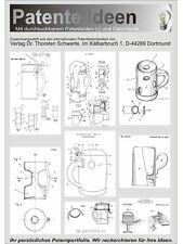 Bierkrug. Patentierte Ideen aus 6 Ländern, 370 Seiten.