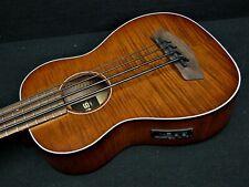 Kala Exotic Mahogany Acoustic Electric U-Bass KA-UBASS-EM-FS Rosewood Fingerboar