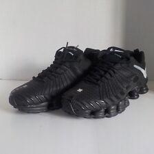 Nike SHOX TLX Running Shoes BLACK WHITE Men Size 11