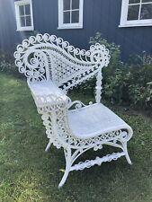 Vintage Heywood-Wakefield Photographer Wicker Chair