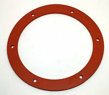 "Pellet Stove Gasket - Exhaust Combustion Fan Motor Seal 6"" - 100's of Models SIL"