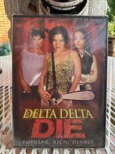 Delta Delta Die- Brinke Stevens, Julie Strain, Shepis (DVD, 2013) Brand New!!