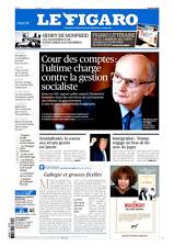 Le Figaro 9.2.2017 N°22551*COUR ds COMPTES**TRUMP contre les JUGES**Foot CHINOIS