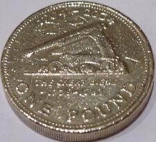 RARE 2004 Gibilterra 1 LB (ca. 0.45 kg) Coin GRANDE ASSEDIO Coin Hunt