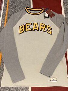 Under Armour Men's CAL Bears Collection 17 LS Gray Sweatshirt 1342474-104 Sz S